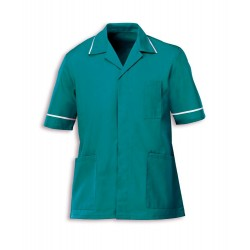 Men's Healthcare Tunic (Aqua Marine with White Trim) - G103