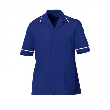 Men's Tunic (Bright Royal with White Trim) - G103