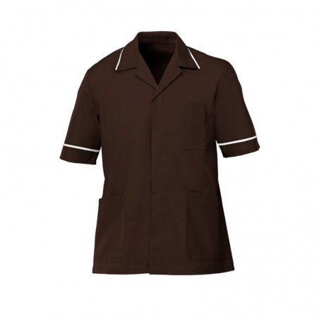 Men's Tunic (Brown with White Trim) - G103