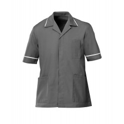 Men's Healthcare Tunic (Convoy Grey with White Trim) - G103