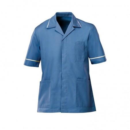 Men's Tunic (Hospital Blue with White Trim) - G103