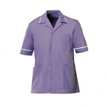 Men's Tunic (Lilac with White Trim) - G103