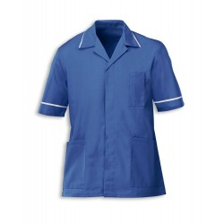 Men's Healthcare Tunic (Metro Blue with White Trim) - G103
