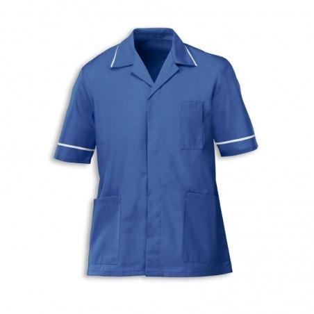 Men's Tunic (Metro Blue with White Trim) - G103