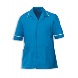 Men's Healthcare Tunic (Peacock with White Trim) - G103