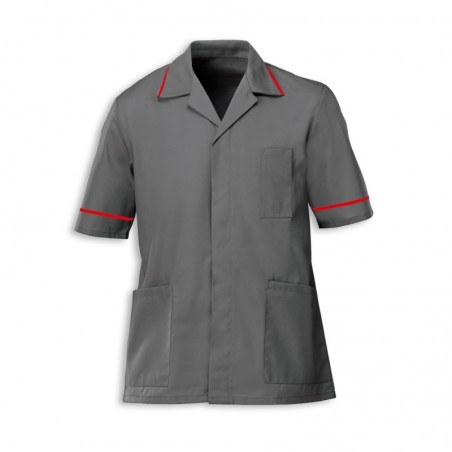 Men's Tunic (Convoy Grey with Red Trim) - G103
