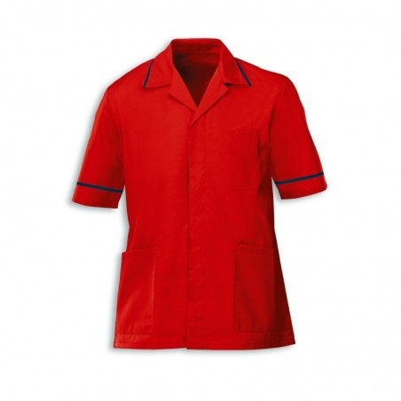 Men's Tunic (Red with Navy Trim) - G103