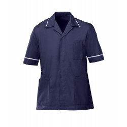 Men's Healthcare Tunic (Navy with White Trim) - G103