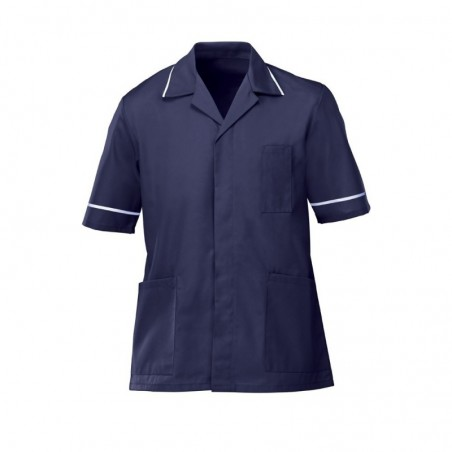 Men's Tunic (Navy with White Trim) - G103