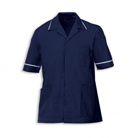Men's Tunic (Navy with Pale Blue Trim) - G103