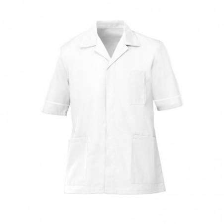 Men's Tunic (White with White Trim) - G103