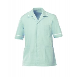 Men's Lightweight Tunic (Aqua with White Trim) - NM48