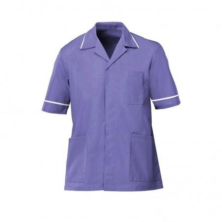 Men's Lightweight Tunic (Purple with White Trim) - NM48