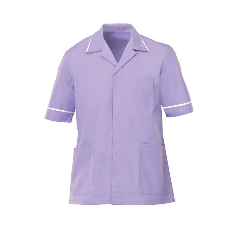 Men's Lightweight Tunic (Lilac with White Trim) - NM48