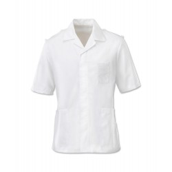 Men's Epaulette Tunic (White) - H572