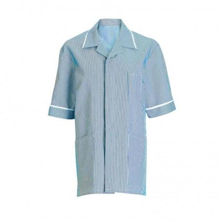Men's Stripe Tunic (Blue with White Trim) - NM173