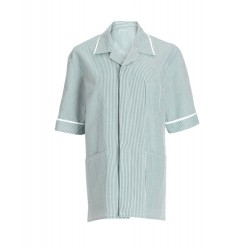 Men's Stripe Tunic (Aqua with White Trim) - NM173