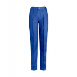 Women's Flat Front Trousers (Royal Box) W40
