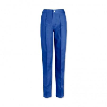 Women's Flat Front Trousers (Royal Box) W40