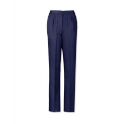 Women's Twin Pleat Trousers (Sailor Navy) LT200