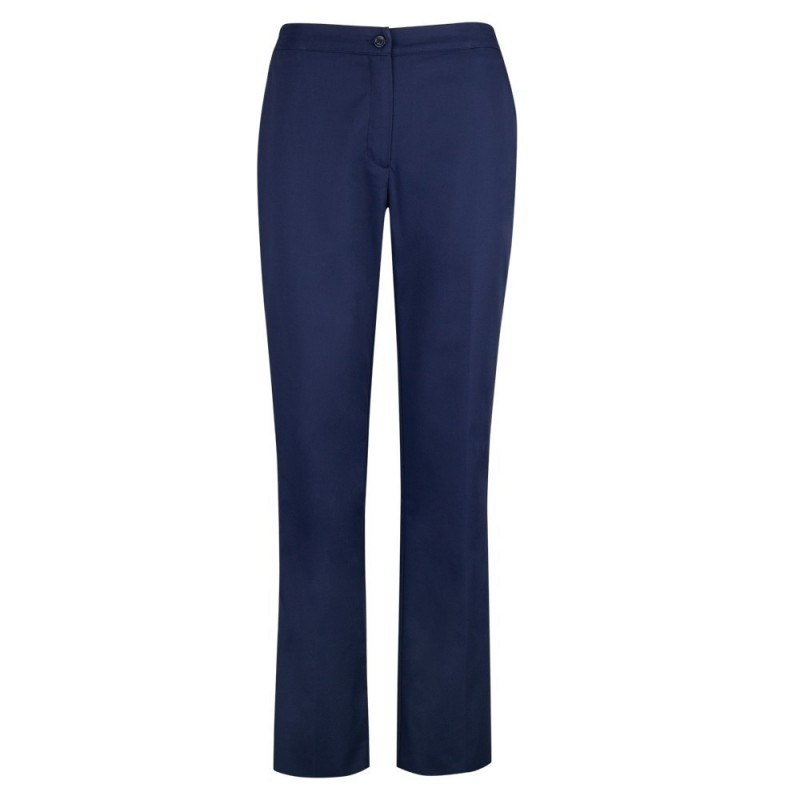 Women's Bootleg Trousers (Navy) NF968