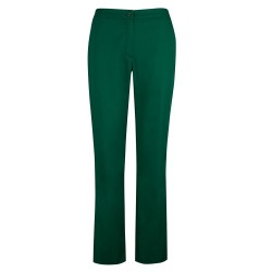 Women's Bootleg Trousers (Bottle Green) NF968