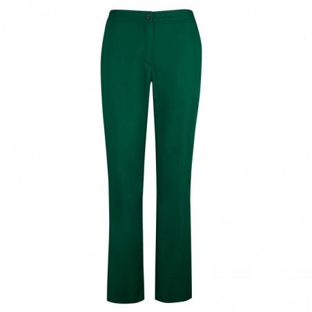 Women's Bootleg Trousers (Bottle Green) NF968
