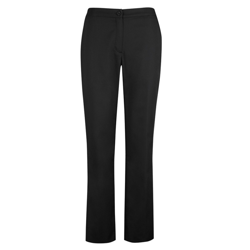 Women's Bootleg Trousers (Black) NF968