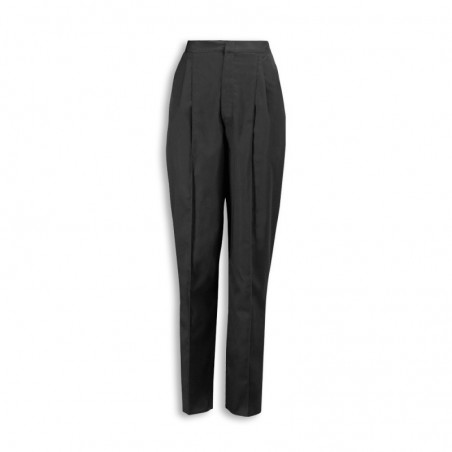 Essential Women's Pleat Front Trousers (Grey) NF640