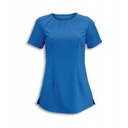 Women's Satin Trim Tunic (Cobalt) - NF32