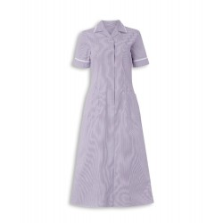 Stripe Dress (Lilac with White Trim) - ST312