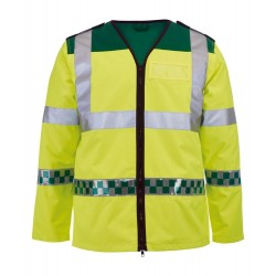 Ambulance Long-Sleeved Hi-Vis Waistcoat - NU94