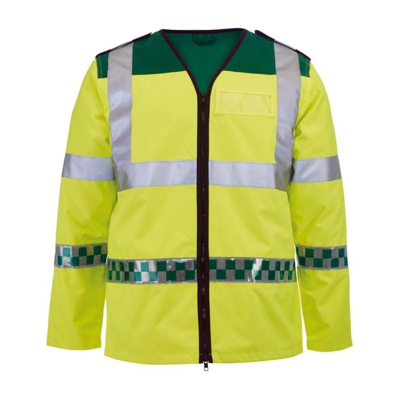 Ambulance Long-Sleeved Hi-Vis Waistcoat - NU94