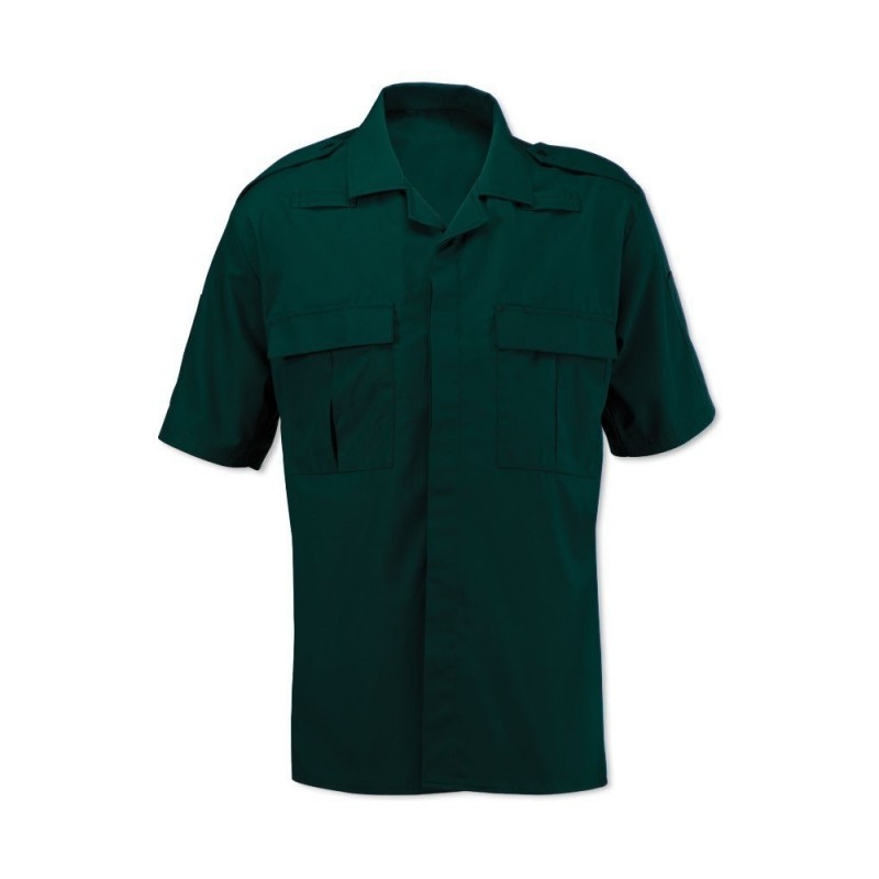 Men's Ambulance Shirt (Dark Green) NM101