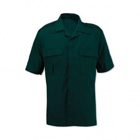 Men's Ambulance Shirt (Dark Green) NM101