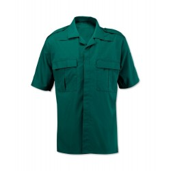 Men's Ambulance Shirt (Bottle Green) NM101