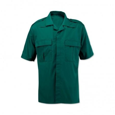 Men's Ambulance Shirt (Bottle Green) NM101