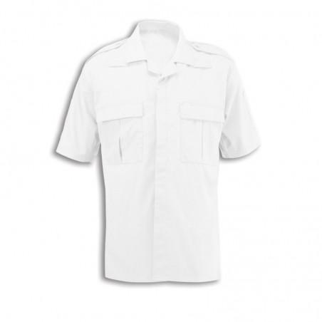 Men's Ambulance Shirt (White) NM101