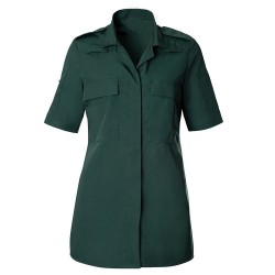 Women's Ambulance Shirt (Dark Green) HP102