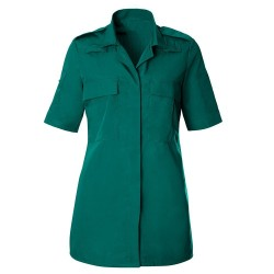 Women's Ambulance Shirt (Bottle Green) HP102