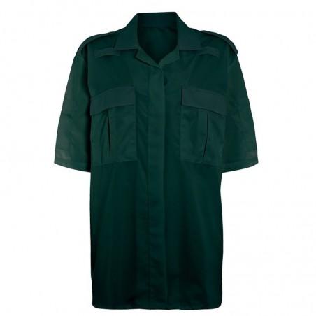Women's Ambulance Shirt (Dark Green) NF101
