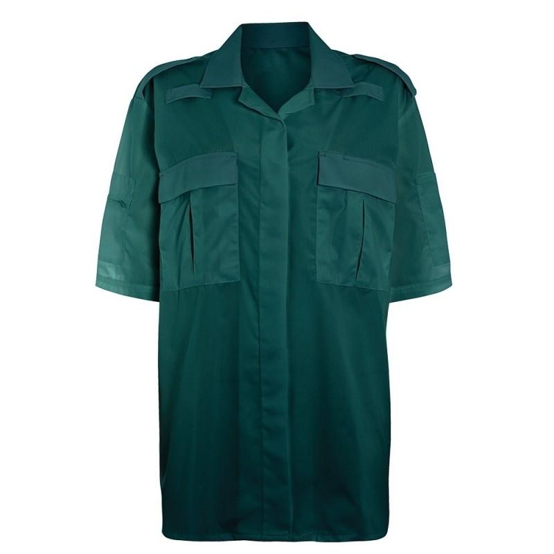 Women's Ambulance Shirt (Bottle Green) NF101