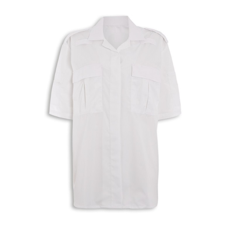 Women's Ambulance Shirt (White) NF101