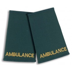 Ambulance Epaulette Sliders (Bottle Green) - NU73