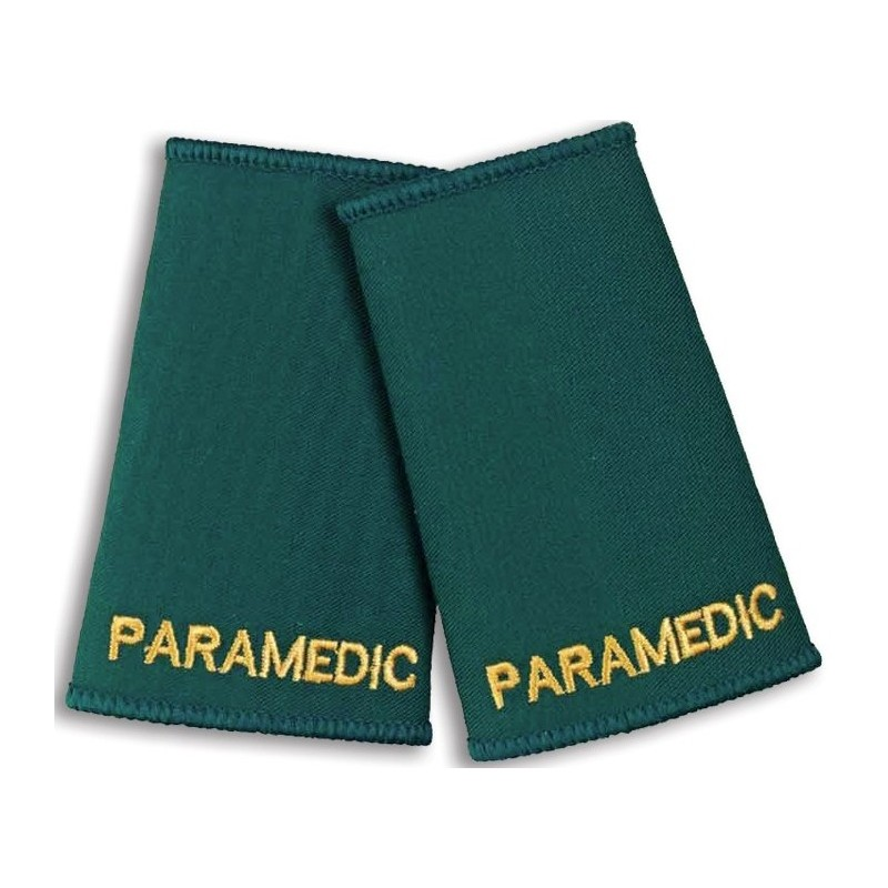 Paramedic Epaulette Sliders (Bottle Green) - NU76