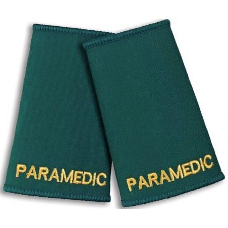 Paramedic Epaulette Sliders (Bottle Green) - NU76