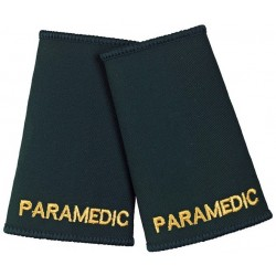 Paramedic Epaulette Sliders (Dark Green) - NU76