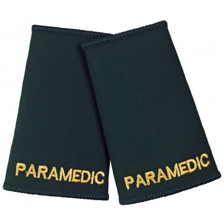 Paramedic Epaulette Sliders (Dark Green) - NU76