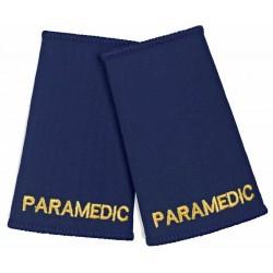 Paramedic Epaulette Sliders (Navy) - NU76