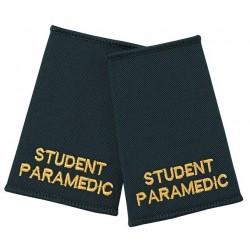 Student Paramedic Epaulette Sliders (Dark Green) - NU89